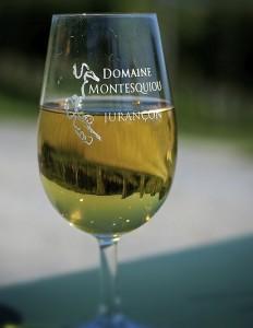 verre - Domaine Montesquiou - Monein